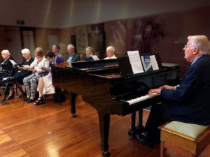 Walalce and the Durham Street Methodist Choir