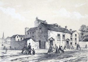 The Foundery: Lithograph by H Humphreys c. 1830 (Wikipedia - Public Domain)