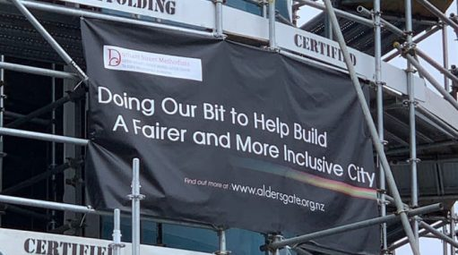 Doing our bit to help build a fairer and more inclusive city banner