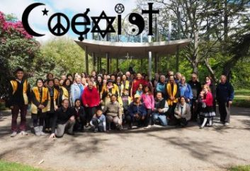 Coexist Interfaith Soxiety and Peace Bell